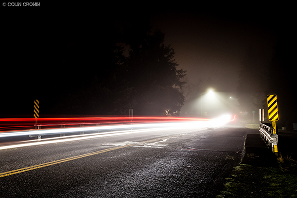 Foggy Night Lights